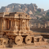 The Stone Chariot - Hampi