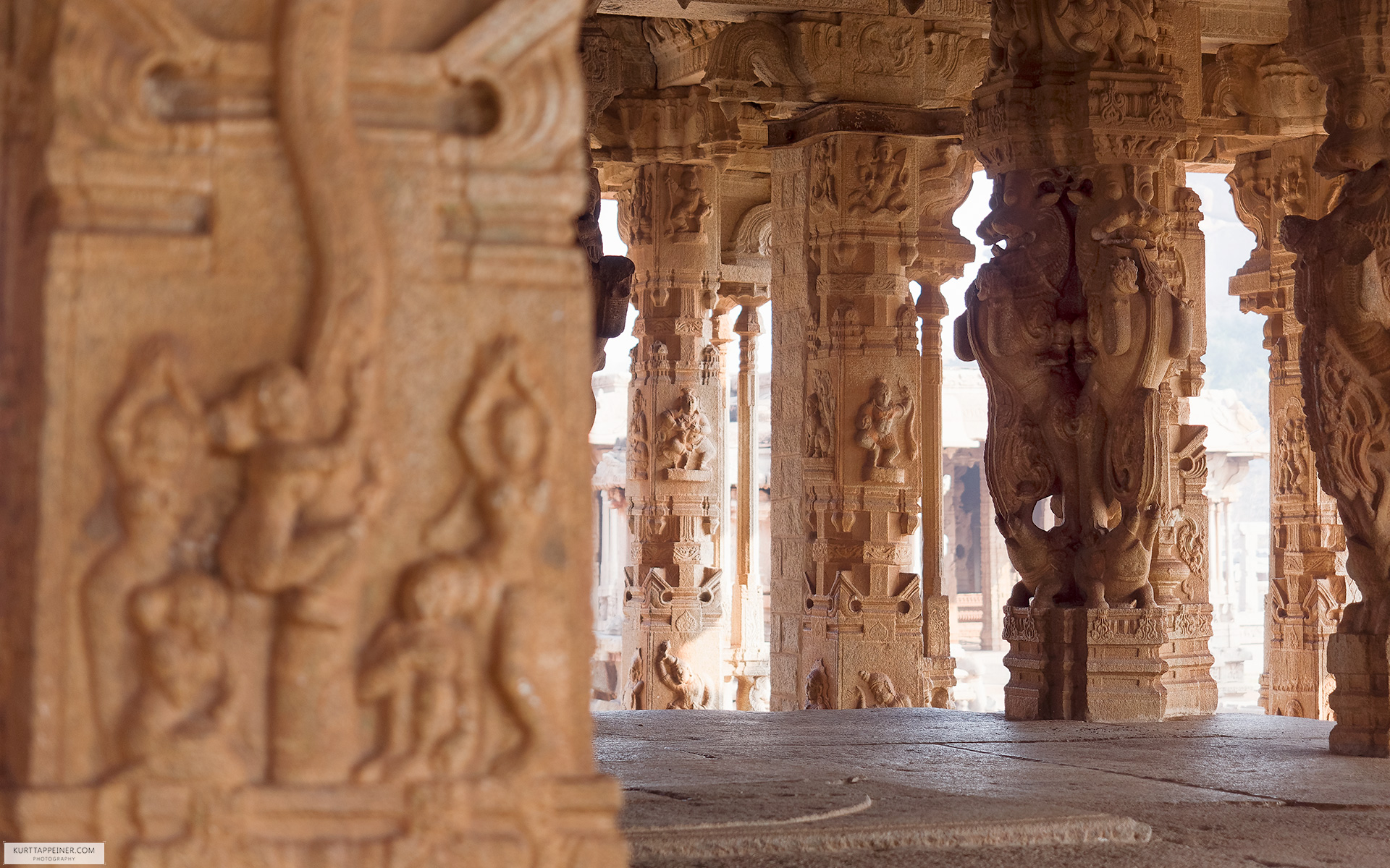 Hampi - Ruins of the magnificent Vijayanagara
