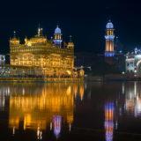 Golden Temple at night - Amritsar
