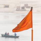 High above Mother Ganga