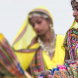 The colorful dancer