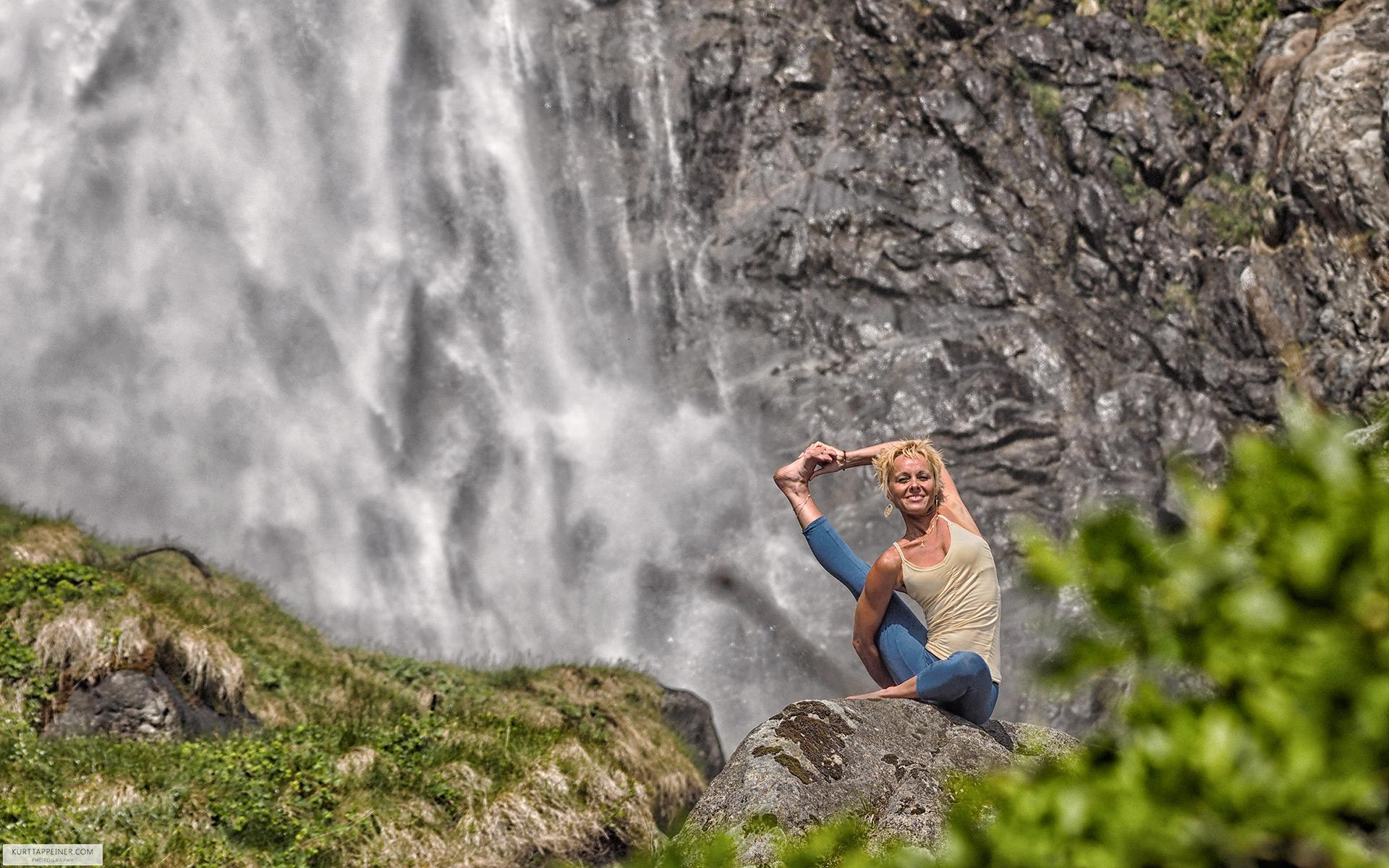 Marion Telfser -  Yoga teacher