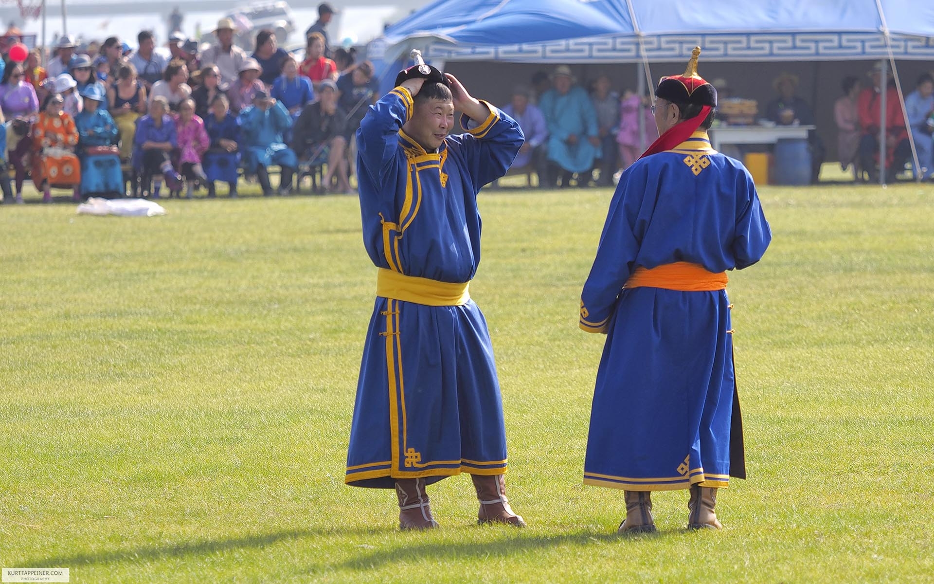 Naadam referee
