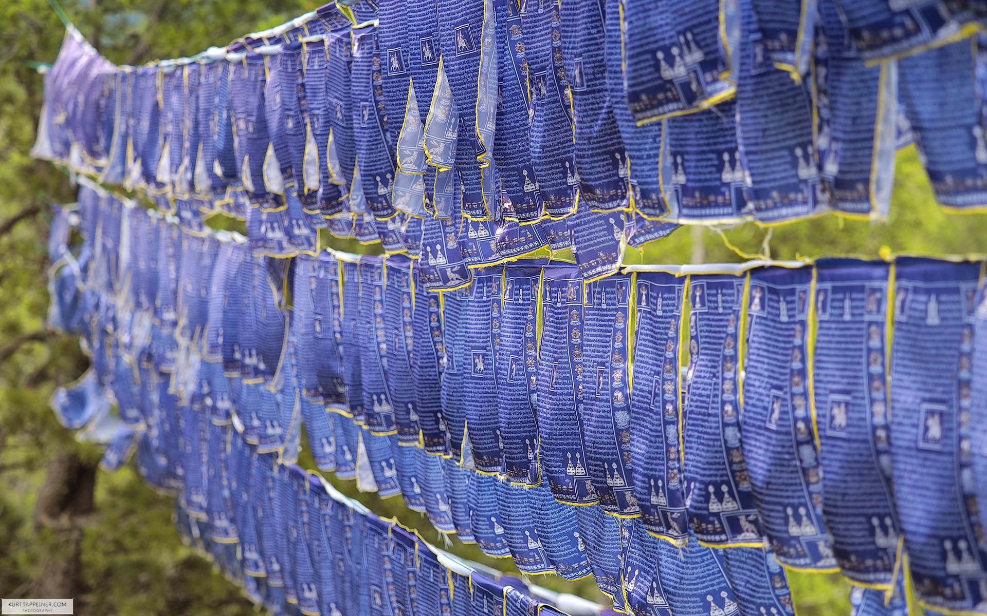 Mongolian prayer flags