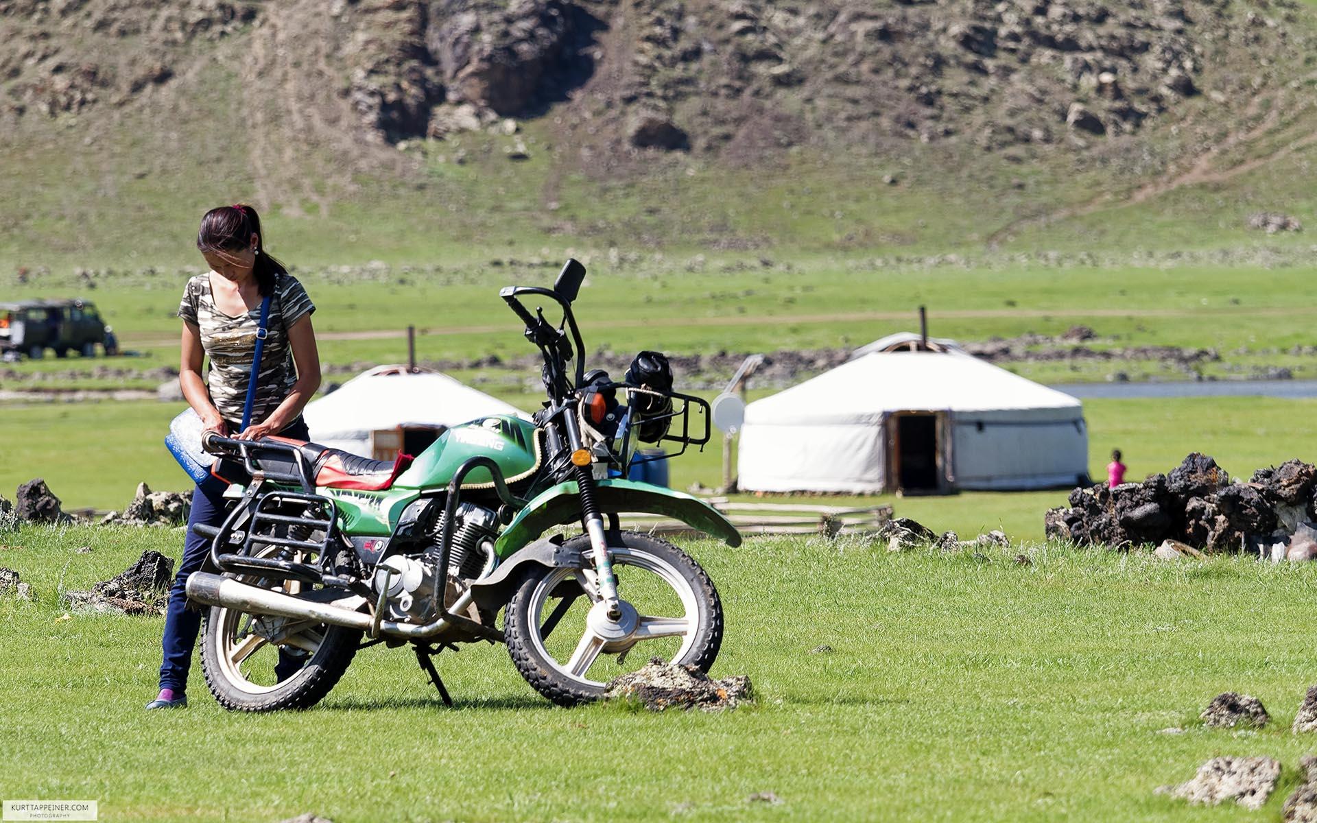 Motorized horse